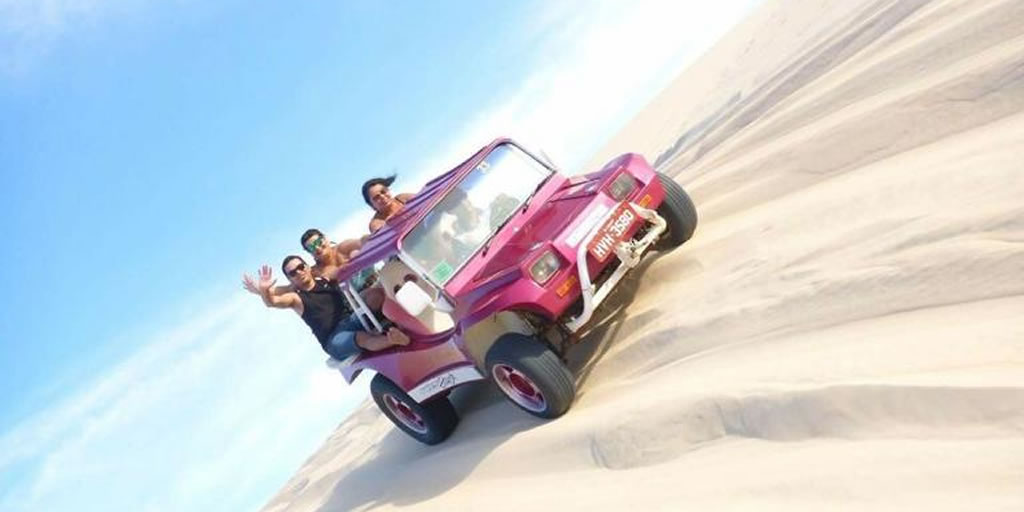 Passeio de buggy - Canoa Quebrada