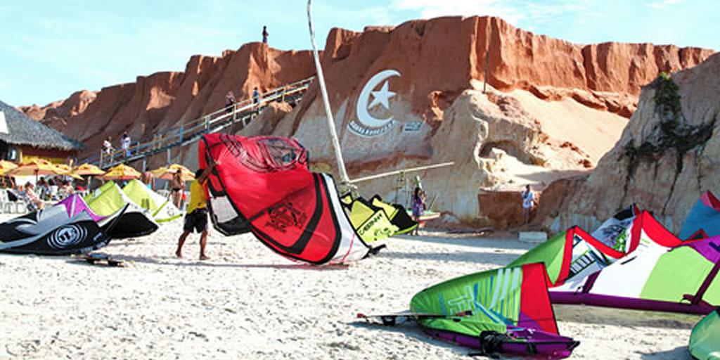 Kitesurf em Canoa Quebrada
