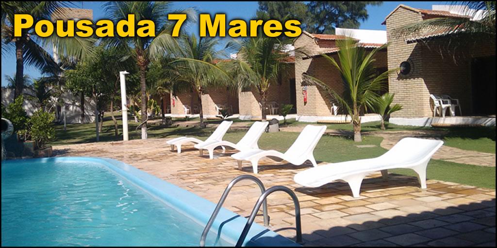 Pousada 7 Mares - Canoa Quebrada