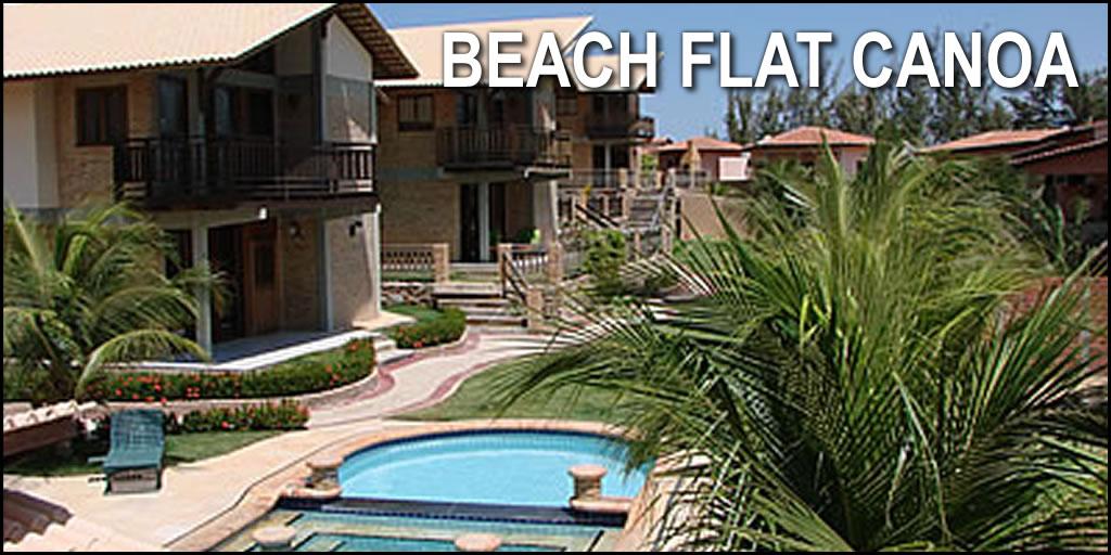 Beach Flat Canoa - Canoa Quebrada