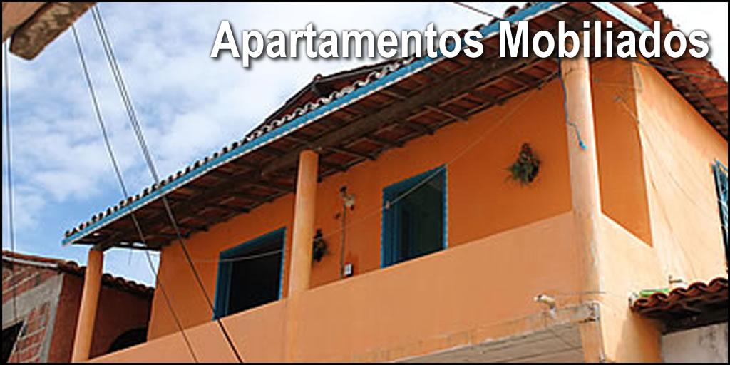 Alugamos apartamentos mobiliados em Canoa Quebrada