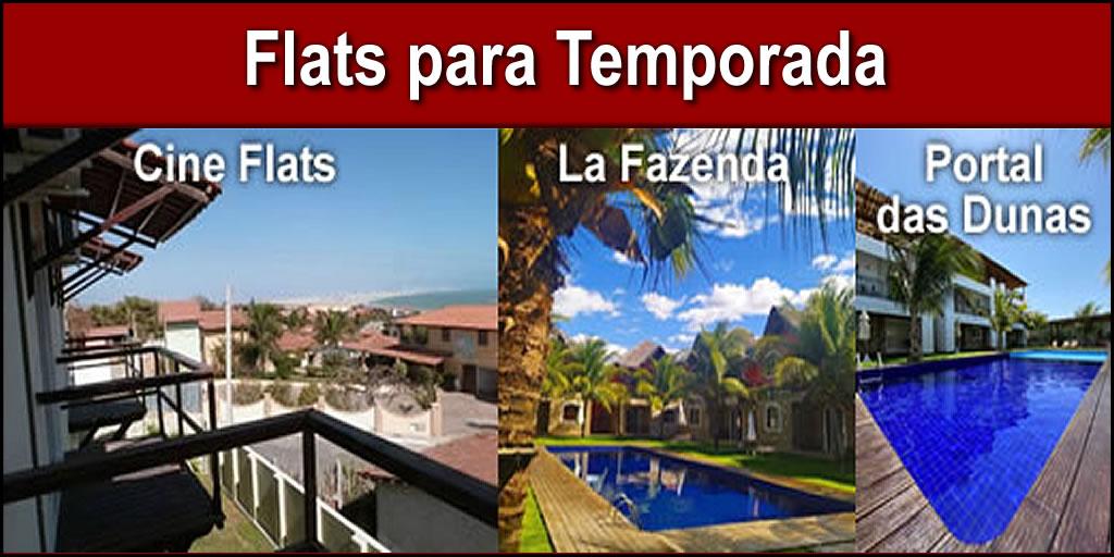 Flats para Temporada em Canoa Quebrada