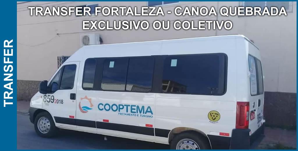 Transfer Compartilhado - Fortaleza para Canoa Quebrada